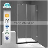 Swing Hinge Corner combo Glass Stainless Steel Frameless wholesale hot Shower Bath Shower Screen