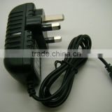 Factory selling Mains AC Power Adaptor Charger Power Supply UK 24v 500ma 1A 12w