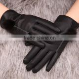 New Fashion Women Girls Winter Soft Leather Mitten Gloves Warm Driving Gloves ,Touch screen Gloves