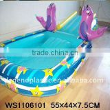 inflatable swimming pool & slide