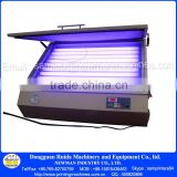 "110V /220V precise tabletop vacuum UV exposure unit optimum screen exposing size 22""*32"" screen printing equipment"