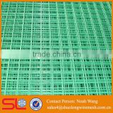 (Factory direct) high quality galvanized and green pvc coated 4x4 welded wire mesh fence