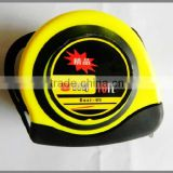 Most popular series rubber case measure tape 5m auto-lock stop diameter measuring tools
