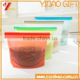 China Supplier Silicone Food/vegetable Kitchen storage bag