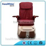 new footsie bath massage pedicure spa chair with magnetic jet glass bowl