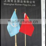 HOT sale Custom table flag/mini desk flag