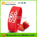 Newest Fashion silicon led smart sport Bracelet smart bracelet health bluetooth wristband pedometer smart bracelet