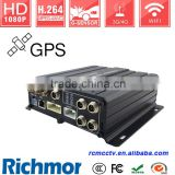 Stable 4G Mobile Truck DVR for Vehicle Camera with Wireless for Wide Range