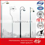 Powder Coating 10M Single Arm Antique Lamp Post for Sale