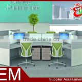 2015 china wholesale modular office furniture 6 person partition workstation M1572