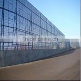 hot sale high quality and low price metal dust suppression and wind proofing wall for highway barriers