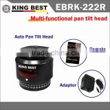KING BEST EBRK-22R hot product Time-lapse 360 degree auto rotation camera mount Pan and Tilt Head