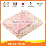 Top selling double layer new born baby girl girt baby fleece blanket new born fleece blanket