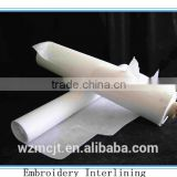 airlaid machine non-woven tear away embroidery interlining