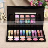 Custom logo cheap 78 color eyeshadow palette
