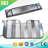 Customized Universal Front Window PE foam foldable auto visor sun shade