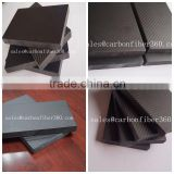 19mm thickness carbon fiber laminated sheets :100%carbon fiber +20% epoxy resin