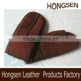 HS145 double face sheepskin gloves