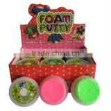 New Promotion foam putty bouncing putty diy bouncing putty toy bouncy putty bouncing foam putty jumping clay/putty
