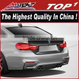 Carbon Look Body kit Trunk for 2014-2016 BMW 4 Series M4 Carbon Creations M4 Look Trunk Lid