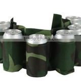 6 Pack Beer & Soda Can Holster Belt