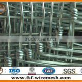 High tensile strength Steel wire plain weave galvanized field fence
