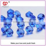 2015 Blue London Blue Sky Blue Round Brilliant Facet Cutting Concave Cutting Trillion Cubic Zirconia Gemstone 5A CZ
