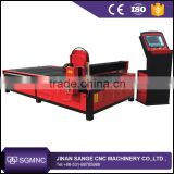Jinan homemade 1325 plasma cutting machine cnc pipe plasma cutter for welding tube cutting