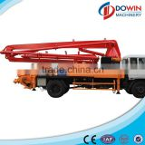 24m concrete boom pump truck heavy machine with reasonable price