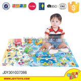 entertainment blanket toys for kids City friction car baby blanket with toys