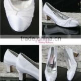 white modest 2011 top quality new design WS-041 wedding shose best price