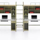 Small Packaging Volume Adult Folding Metal Bunk Beds Metal Double Slats For Bed Frame Bunk Bed
