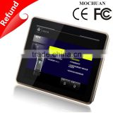 OEM resistive metal enclosure tft lcd 9.7 inch touch screen hmi