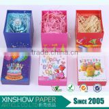 Hot sale shredded filling confetti paper and box