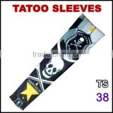 TS38 Favorites Compare 92% nylon and 8% spandex multi colors customized logo tattoo arm sleeve