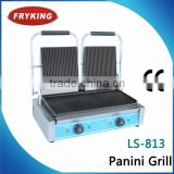 restaurant electric contact grooved grill ( CE approved )