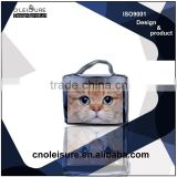 Travel organizer bag barrel bag cosmetic case
