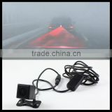 red led car defense system laser fog light rear anti-collision brake tail lights warning lamp