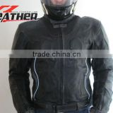 2014 NEW Fashion Mens Leather Motorcycle Coats Jackets Washed Leather Brown Leather Motorbike Jackets Made By Sialkot Pakistan
