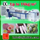easy and simple to handle epe foaming fruit net extrusion machine