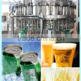 aluminium can drink/beer making machinery/cola tin can filling machine