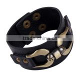 Cow head leather rope bracelet making supplies leather bracelet