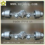 professional rigid axle steering axle tandem axle for wheeled vehicles axles manufacturing