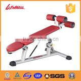 Body strong fitness equipment /body building equipment for Adjustable abdominal bench LJ-5529