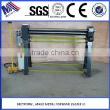 manufacturer pipe bending plate rolling machine with electric power