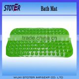 green color pvc anti-ship bath mat