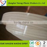living room furniture plastic shelf edge for edge banding machine