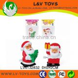 Promotion mini plastic promotion wind up toy christmas
