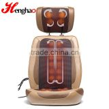 Foot print jade head massage cushion best neck and shoulder vibrating massager as seen on tv