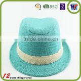 Men's handmade beach hat,sun hat,straw cowboy hat made in China